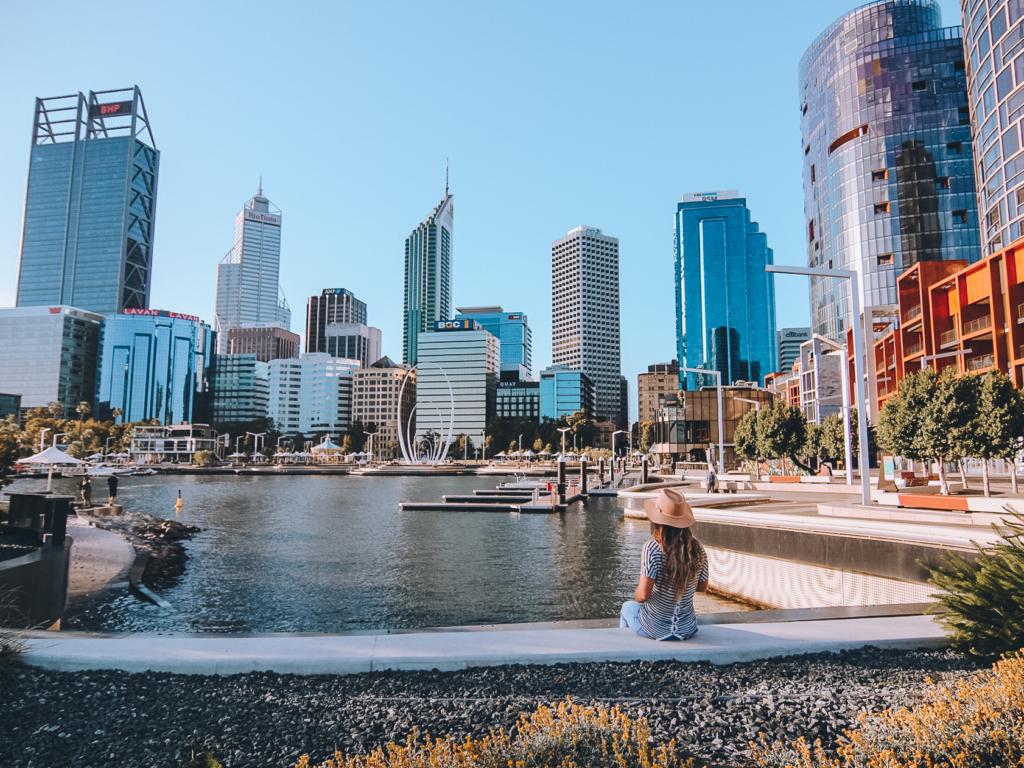 Perth, Elizabeth Quay.