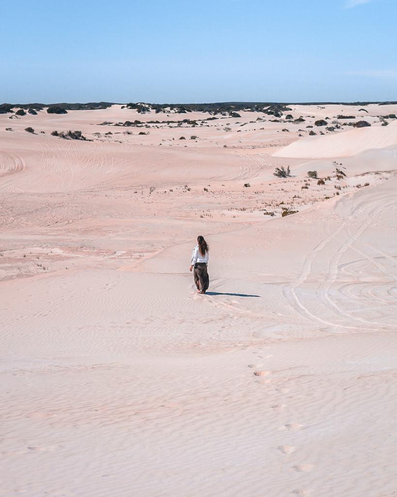 Les dunes de Lancelin en Australie